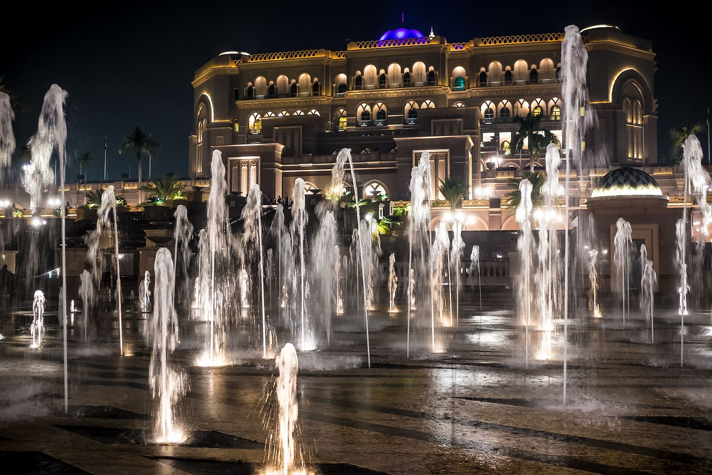 Hotel Emirates Palace (Emiraty Arabskie)