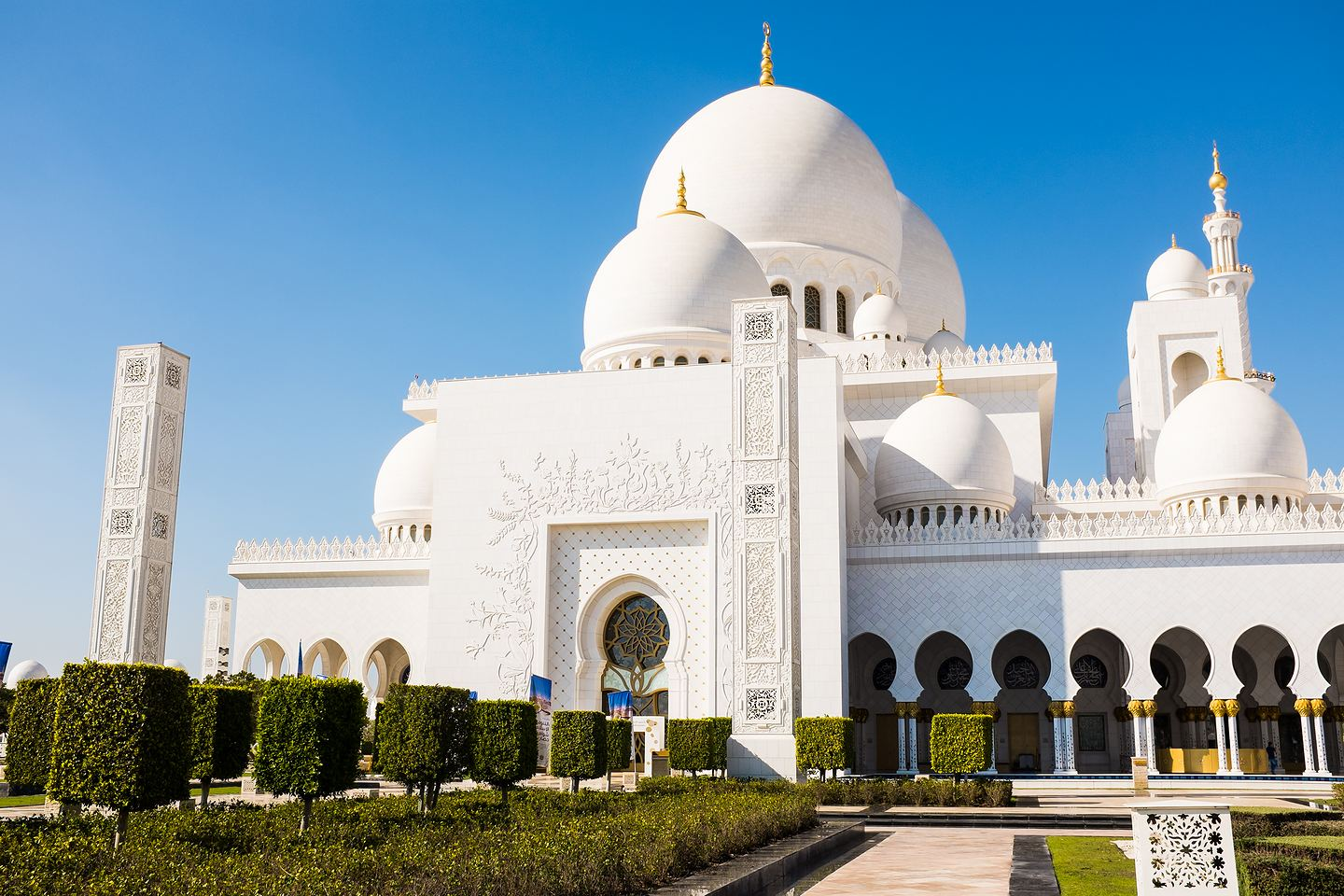 Sheikh Zayed Grand Mosque, Abu Dhabi (Emiraty Arabskie)